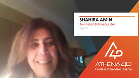 Shahira Amin - Athena40 Women Voices of Tenacity
