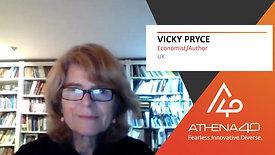 Vicky Pryce - Athena40 Women Voices of Tenacity