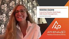 Maria Oldin - Athena40 Women Voices of Tenacity