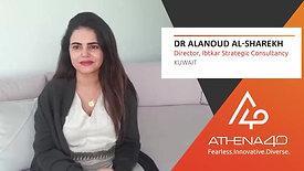 Dr Alanoud AlSharekh - Athena40 Women Voices of Tenacity