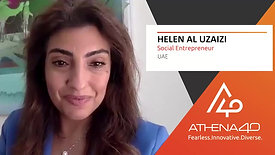 Helen Al Uzaizi - Athena40 Women Voices of Tenacity
