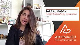 Sara Al Madani - Athena40 Women Voices of Tenacity