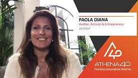 Paola Diana - Athena40 Women Voices of Tenacity