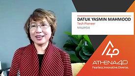 Datuk Yasmin Mahmood - Athena40 Women Voices of Tenacity