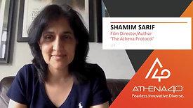 Shamim Sarif - Athena40 Women Voices of Tenacity