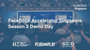 Facebook Accelerator Singapore Season 2 Demo Day