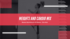 Weights and Cardio mix💪💪🔥