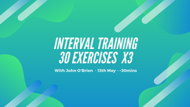 Interval Training - 30 exercises + abs