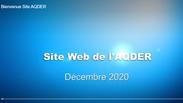 Bienvenue Site AQDER
