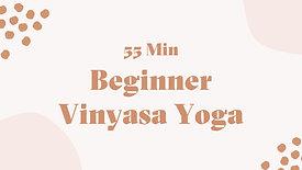 Beginner Vinyasa Yoga (1 Hour)