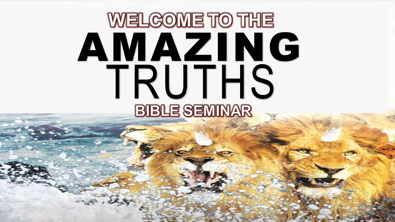 Amazing Truths Bible Seminar 2018