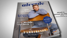alverde Magazin Covershoot  – Interview des Monats mit Ken Duken