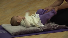 Baby Massage over clothing