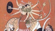 Durga and Mahisha