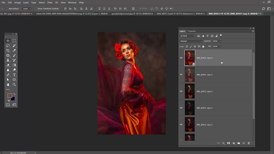 Working with Camera Raw