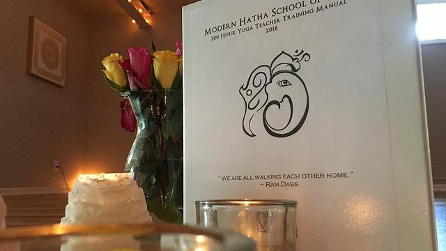 Modern Hatha School of Yoga Graduates Wisdom
