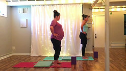 Prental Yoga at 30 weeks