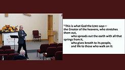 Sunday Adult Bible Study November 22, 2020
