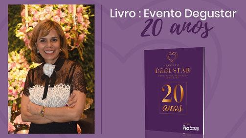 Livro- Evento Degustar 20 anos