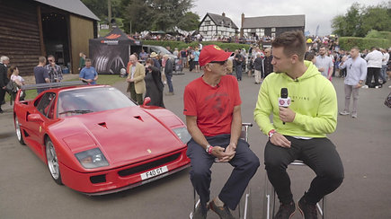 Paul Wallace interviews F40 owner Alvin Powell for ERS Insurance