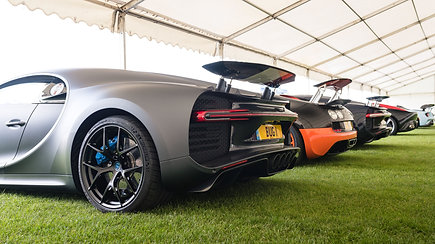 First Point Hypercar Zone at Supercar Fest the Runway 2021