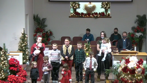 Happy Birthday Jesus! Christmas Program