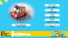 #01 The JoeMobile / Let it Joe