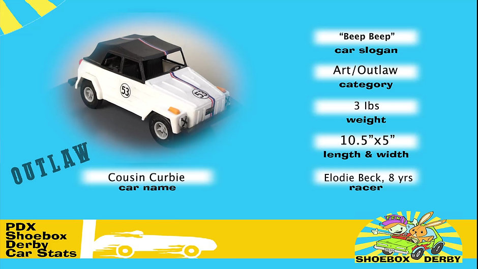 #53_Cousin Curbie / Beep Beep