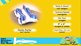 #29_Hanky Panky / Keep it classy