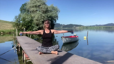 30 Minuten mit Fokus Rücken und Arme