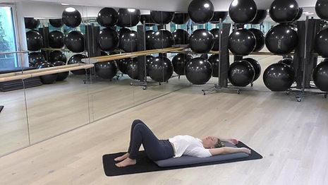 Workout mit Fokus Bauch und Rücken