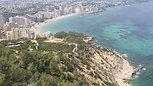 Walk the Peñon Ifach 300 m above the see in Calpe, 15 min from Villa Rosenberg