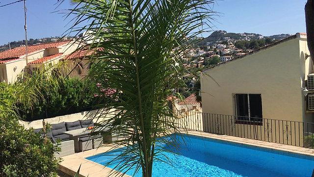 Pool Villa Rosenberg Benissa Costa