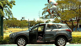 Jump with Mazda