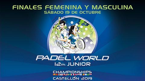 Finales Mundial de Pádel de Menores