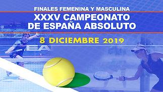 Finales Campeonato España Absoluto 2019