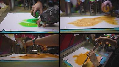 Sprite Tiger Print - Behind the Scenes