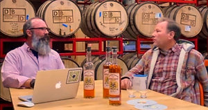 Dented Brick's Moon's Straight Rye Whiskey Release