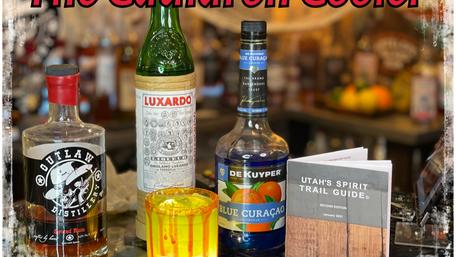 Utah's Spirit Trail Cocktail Videos Ep. 46  The Cauldron Cooler Feat. Outlaw Distillery's Spiced Rum