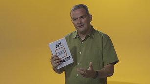 Patrick Regan Just Leadership book promo