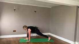A grounding flow for hamstrings