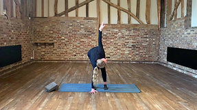 Pilates warm up - standing