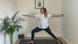 A grounding flow for the back of the body
