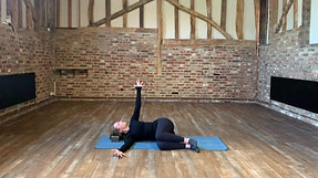 Pilates side lying