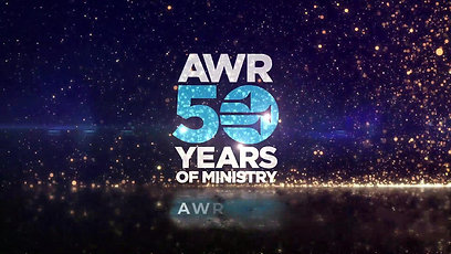 AWR 50th Golden Logo Animation