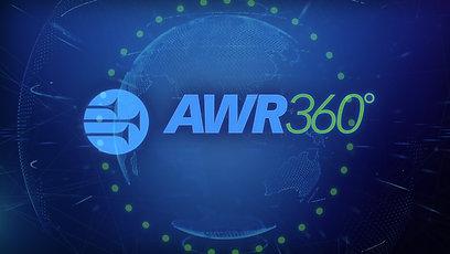 AWR 360° Logo Build (10 Sec) (4K)