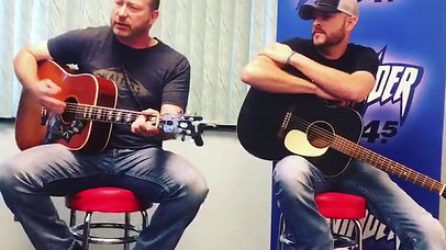 """""""Let Me In"""" at Thunder 104.5 Writer's Round"""