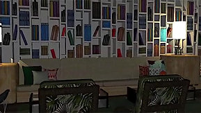 Postcard Hotel Lobby