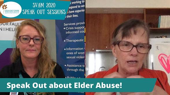 Speak Out - Elder Abuse