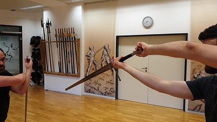 Gladiatores Technik - Hangetort Schliff